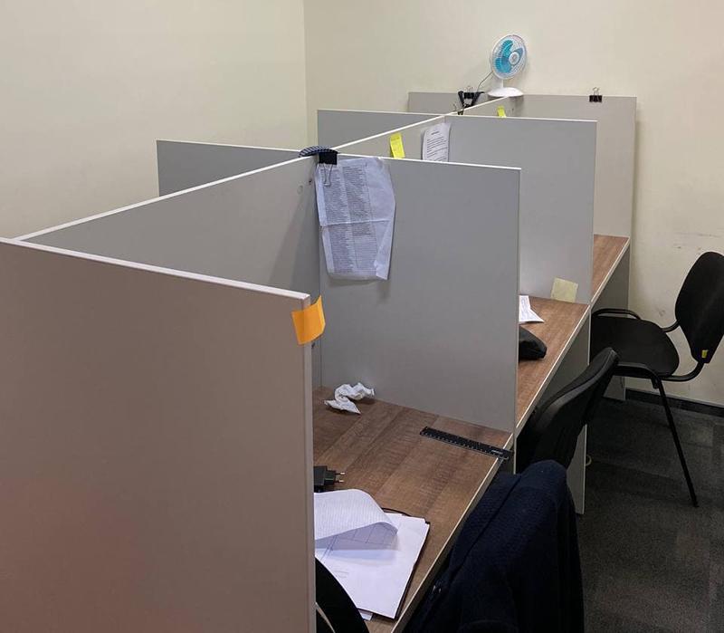 Офис мошенников
