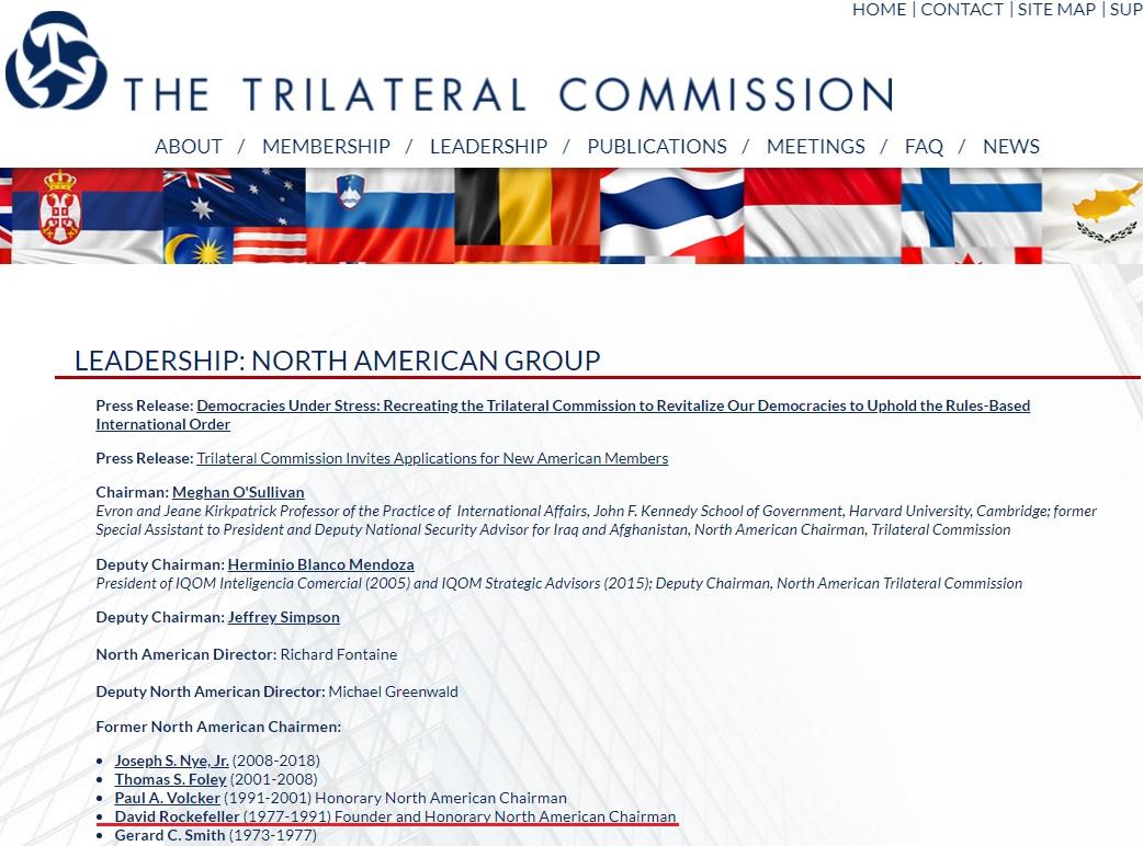 Скриншот сайта trilateral.org