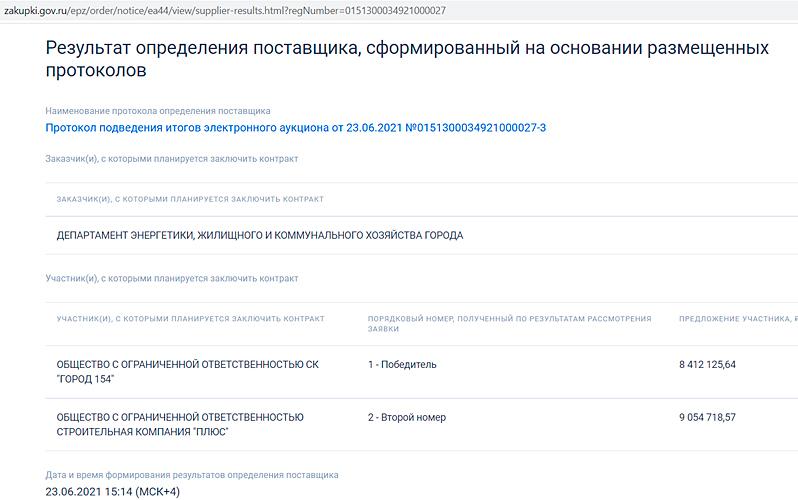 Cкриншот сайта zakupki.gov.ru