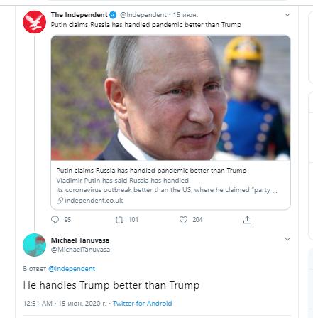 """Путин хвастается, но нам всё равно страшно: Интервью русского президента - """"бомба"""" для Запада"""