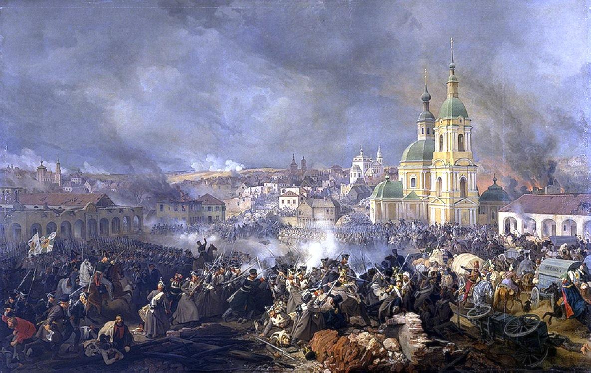 Война 1812 года в батальной живописи