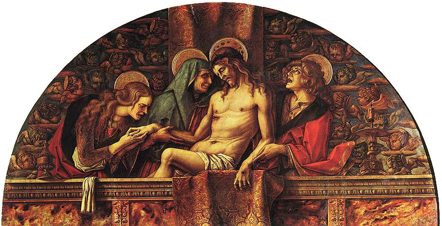 Карло Кривелли - Pieta (из коллекции Ватикана)