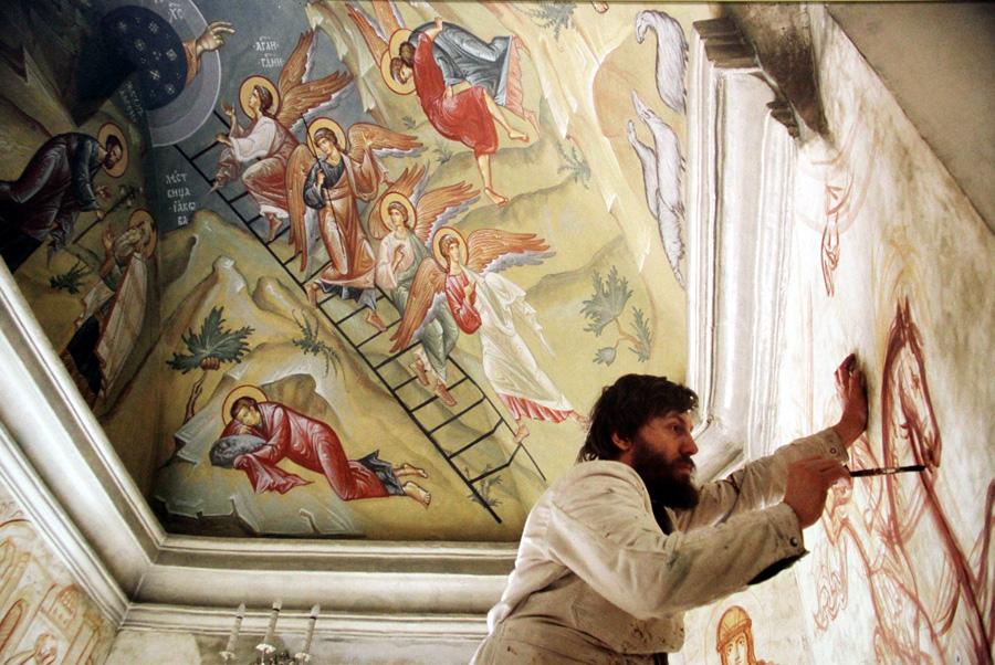 Иконописец Александр Соколов