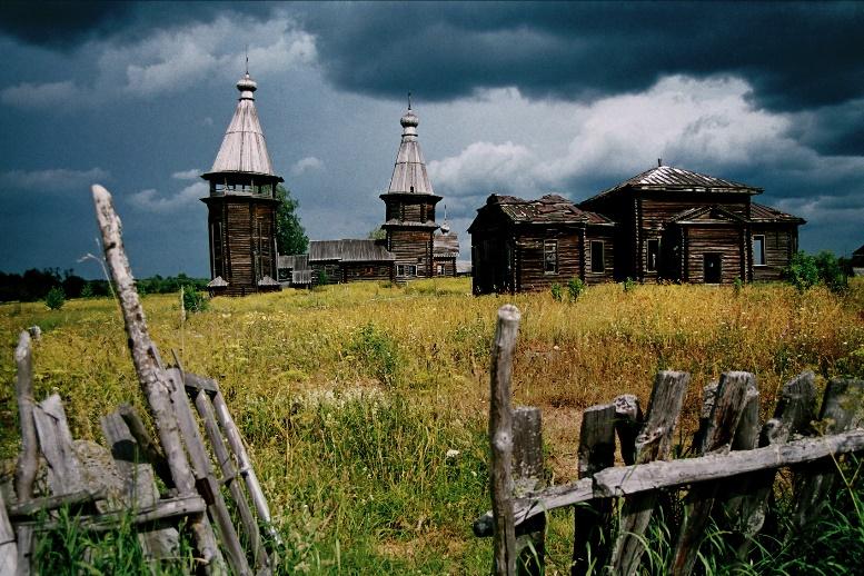 Деревянный храм Русского Севера