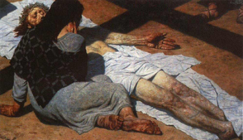 Гелий Коржев - В тени креста