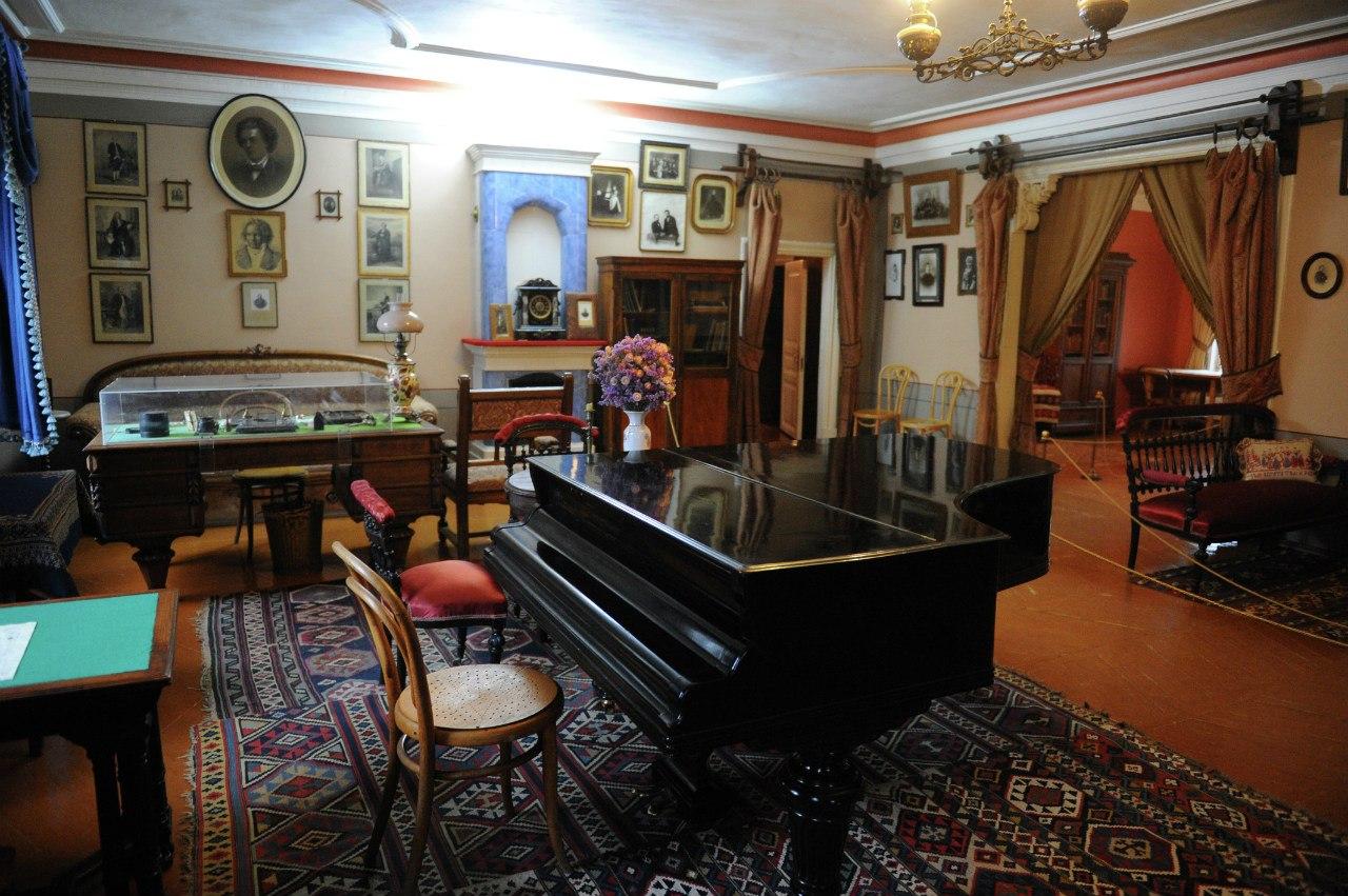 Музей Чайковского в Клину (фото - Александр Кожохин)