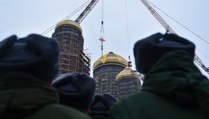 Попались на лжи: Откуда взялись 300 миллионов на главный храм Вооружённых сил?