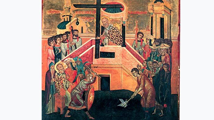 Воздвижение Креста Господня. Православный календарь на 27 сентября