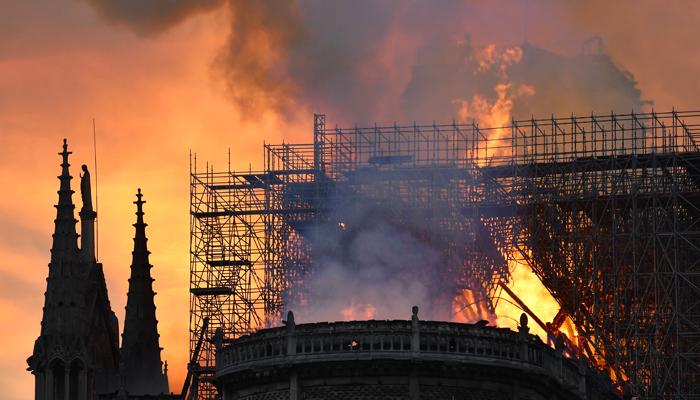 Позор на фоне пожара