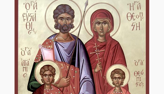 Благоверный князь Михаил Черниговский и боярин его Феодор. Православный календарь на 3 октября