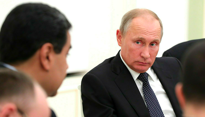 Мадуро «сбежал» в Россию
