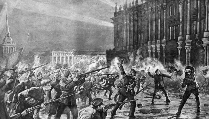 Холодная гражданская война между революционерами и контрреволюционерами: Начало XX столетия в России