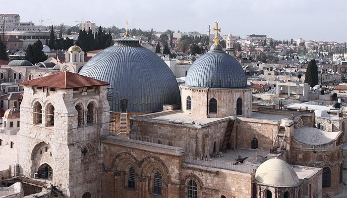 Храм Гроба Господня - одна из величайших святынь христианства