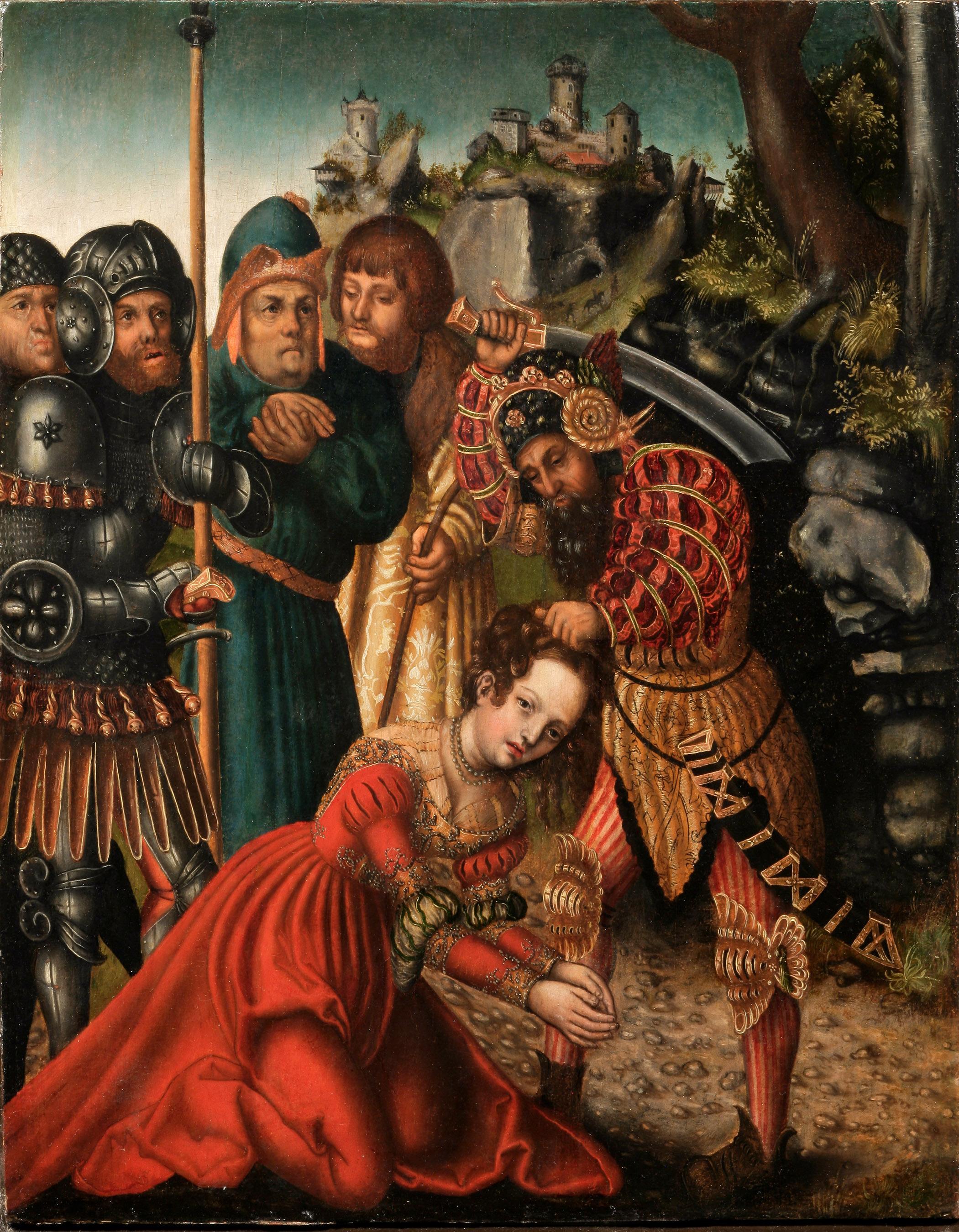 Казнь великомученицы Варвары