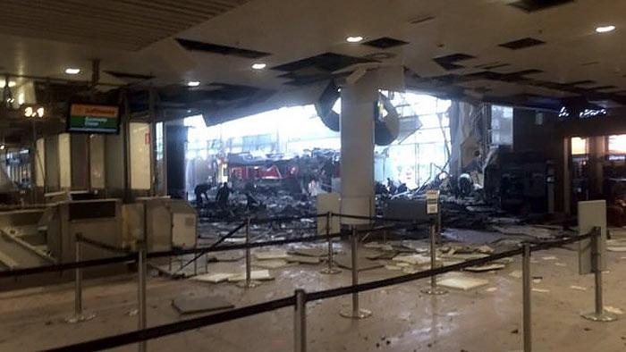 аэропорт, брюссель, взрыв, очевидцы