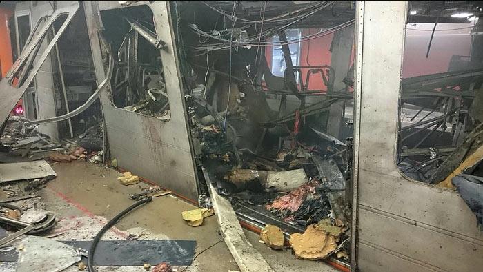 теракт, брюссель, вагон метро