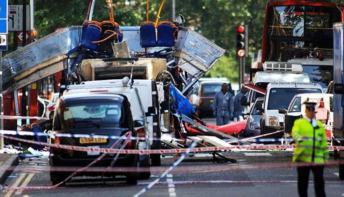 лондон теракт поезд