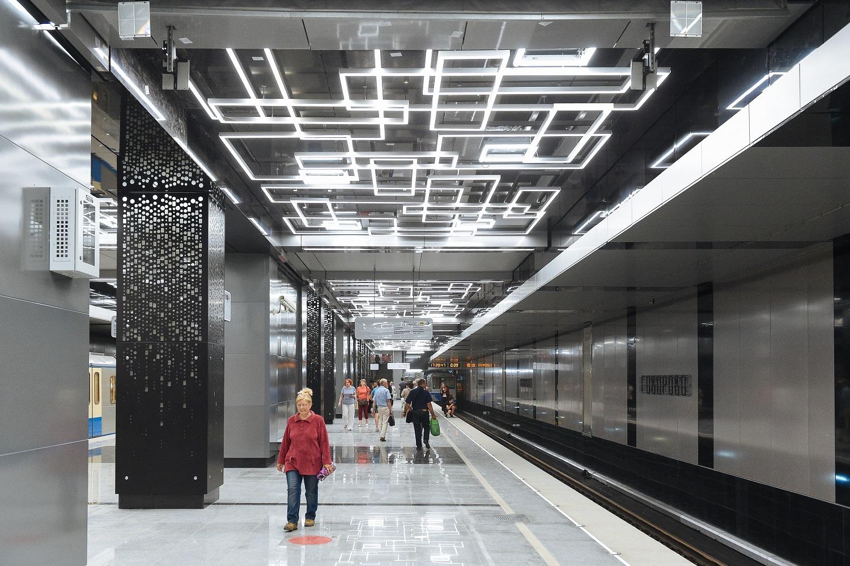 интерес представляет москва новые станции метро фото даже шишка шелохнулась