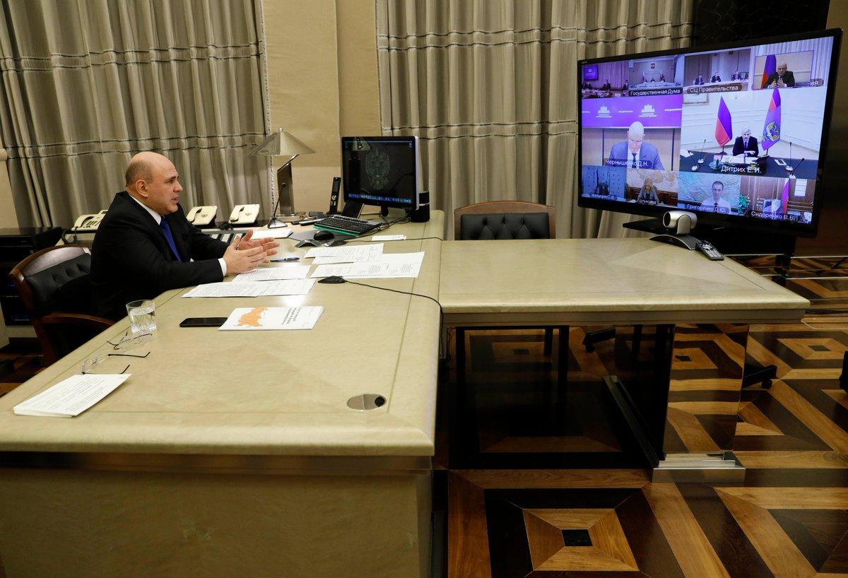 Мишустин сделал выговор министру и рассказал всё о путинских выплатах. Прямая речь