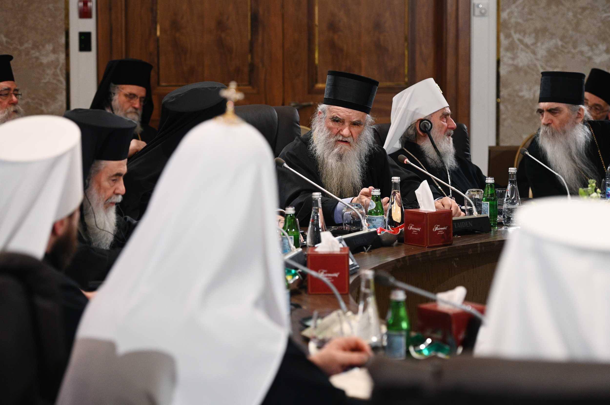 Митрополит Амфилохий: Патриарх Варфоломей — мой друг, и я знаю, зачем он раскалывает Украинскую Церковь