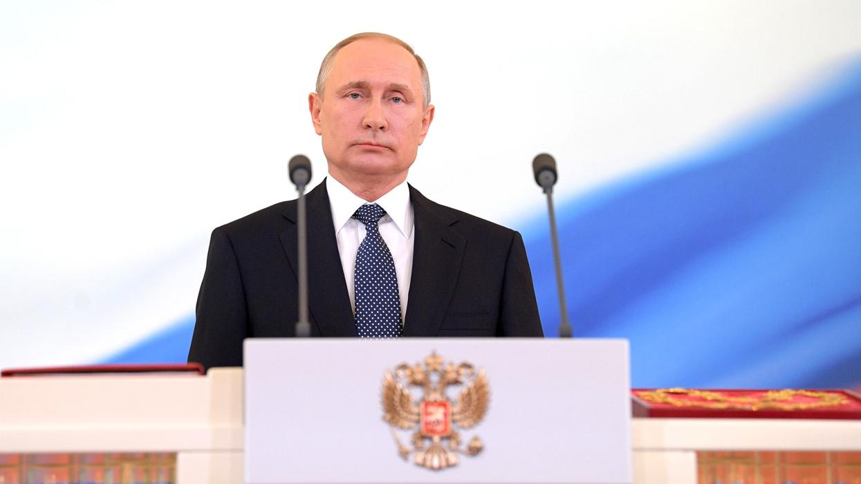 Торжественная церемония вступления в должность президента РФ Владимира Путина. Фото: www.globallookpress.com