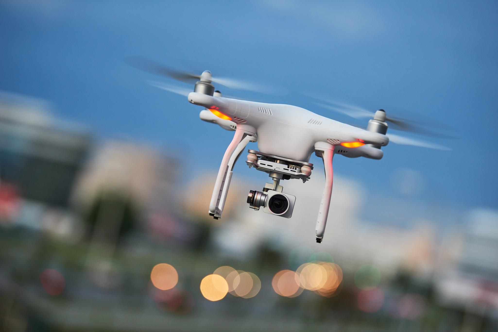 интересные фото дронов