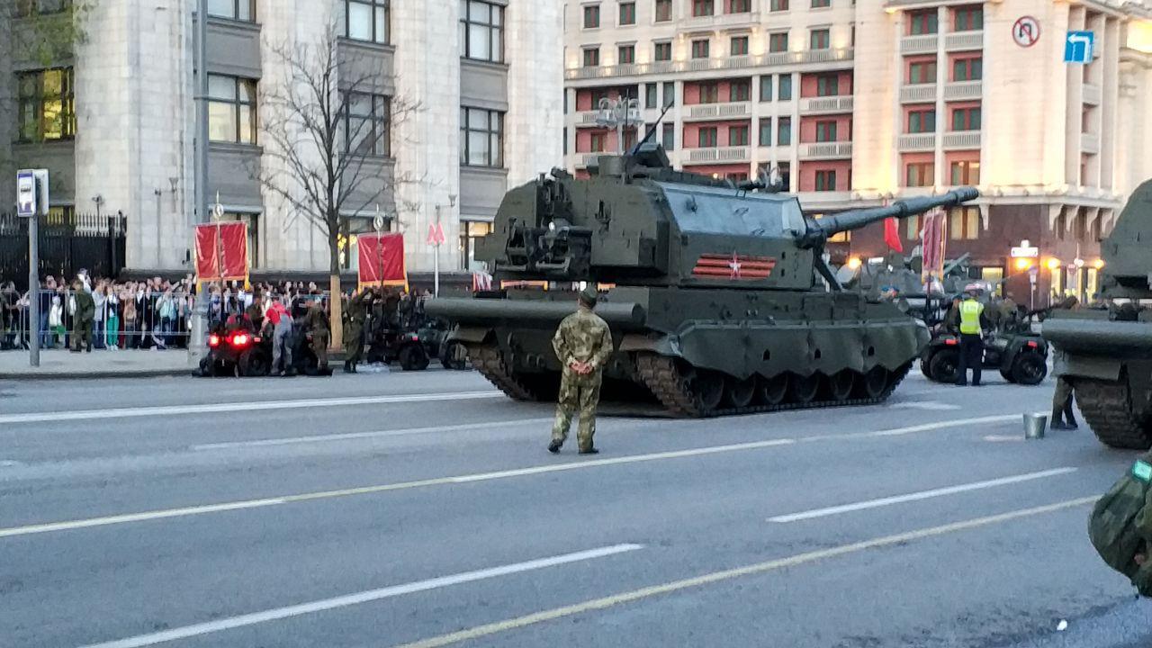 Русские «Терминаторы» впервый раз примут участие впараде Победы